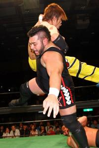 If Jonah's recent battles in NOAH are to go by, he may be the toughest wrestler on the ZERO1 roster